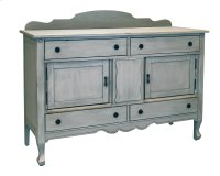 Dove Grey Silhouette Sideboard Product Image