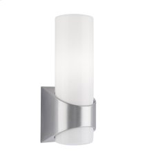 Celino Collection Celino 1 Light Outdoor Wall Light-Brushed Aluminum