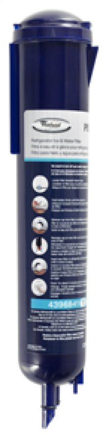 FILTER3 Refrigerator Water Filter - In-the Grille Fast Fill Push-Button