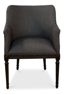 Sue Dining Arm Chair, Stripe