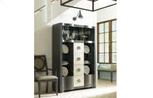 Tower Suite - Moonstone Finish Bar Cabinet