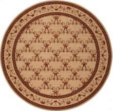 Hard To Find Sizes Ashton House As07 Bge Round Rug 10' X 10'