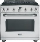 "36"" Pro Range - Dual Fuel with 6 Burners Product Image"
