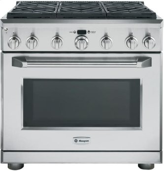 "36"" Pro Range - All Gas with 6 Burners"