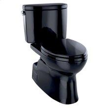 Vespin® II Two-Piece Toilet, Elongated Bowl - 1.28 GPF - Ebony