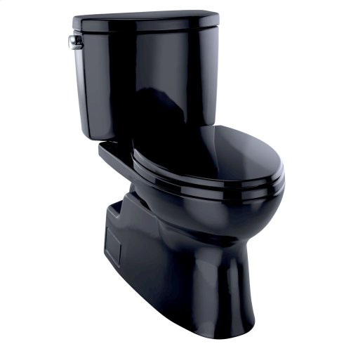 Vespin® II Two-Piece Toilet, Elongated Bowl - 1.28 GPF - Ebony