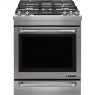 """Jenn-Air® 30"""" Dual™Fuel Range, Pro-Style® Stainless Handle Product Image"""