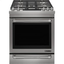 "Jenn-Air® 30"" Dual™Fuel Range, Pro-Style® Stainless Handle"