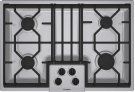 "30"" Gas Cooktop 300 Series - Stainless Steel NGM3054UC Product Image"