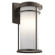 "Toman 20"" 1 light Wall Light with LED Bulb Olde Bronze®"