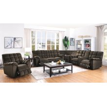 Hershey Casual Chocolate Motion Sofa