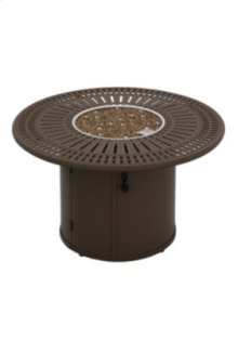"Spectrum 43"" Round Fire Pit, Manual Ignition"