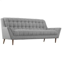 Response Upholstered Fabric Sofa in Expectation Gray