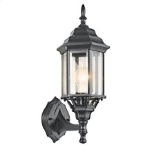 Chesapeake Collection Chesapeake 1 Light Outdoor Wall Light BK