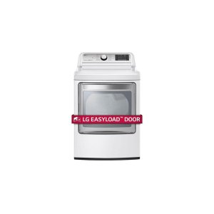 LG Appliances7.3 cu. ft. Ultra Large Capacity TurboSteam™ Electric Dryer with EasyLoad™ Door