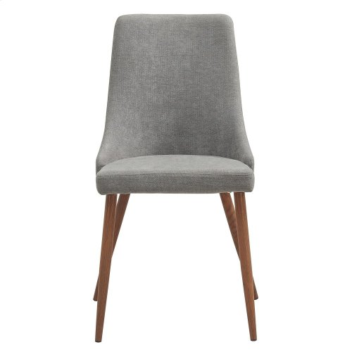 Cora Side Chair in Grey, 2pk