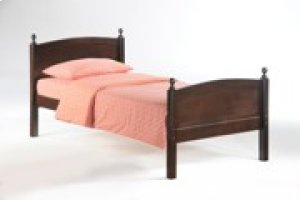 Licorice Bed in Dark Chocolate Finish