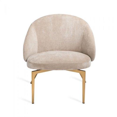 Amara Lounge Chair - Beige Latte