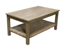 Coffee Table, Available in Grey Wash or Royal Oak Finish.