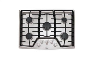 "30"" Gas Cooktop with SuperBoil Product Image"