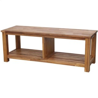 Tiburon TV Bench KD, Amber