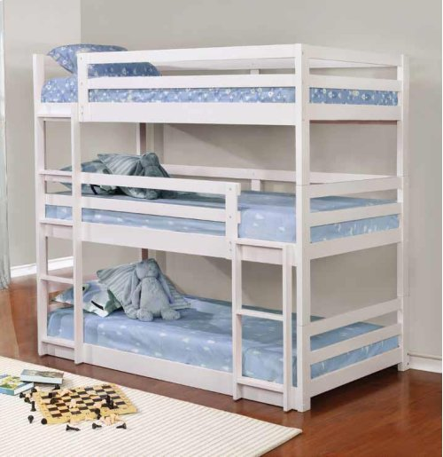 T/t/t Triple Bunk Bed