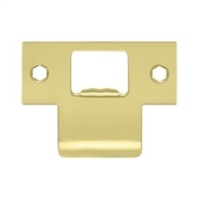 "Extended T-Strike (2-3/4""x 2"") - Polished Brass"