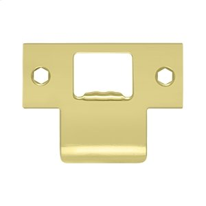 """Extended T-Strike (2-3/4""""x 2"""") - Polished Brass"""