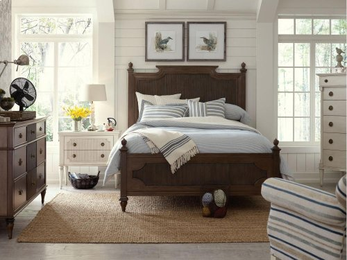 Scandia Kristiania Panel Headboard (Twin)