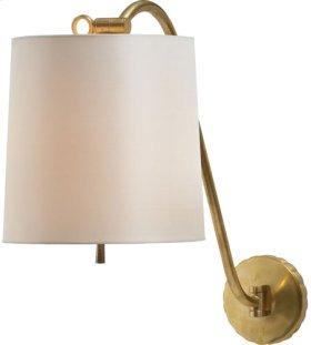 Visual Comfort BBL2010SB-S Barbara Barry Understudy 1 Light 10 inch Soft Brass Decorative Wall Light