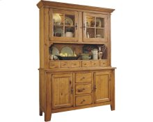 Attic Heirlooms China Hutch and Base