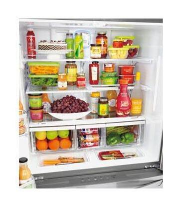 Lmxc23746s Lg Appliances 23 Cu Ft French Door Counter