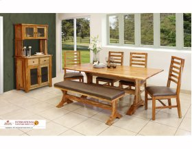 78 Complete Dining Trestle Table