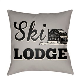 "Lodge Cabin LGCB-2039 18"" x 18"""