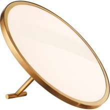 Visual Comfort PB3000NB Peter Bristol Dot 10 inch 18 watt Natural Brass Accent Lamp Portable Light