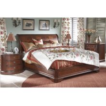 Cal King Sleigh Bed