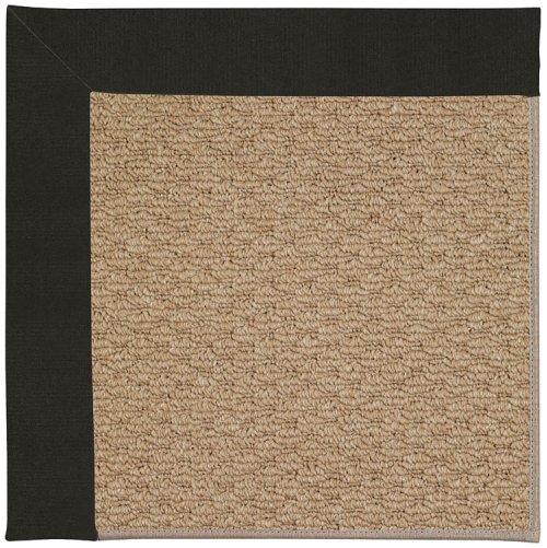 Creative Concepts-Raffia Canvas Black Machine Tufted Rugs