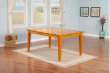 Montreal Dining Table 36x60 in Caramel Latte