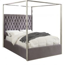 """Porter Velvet Bed - 66.5"""" W x 86.5"""" D x 78.5"""" H"""