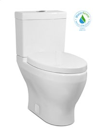 White CADENCE II Two-Piece Toilet, Dual-Flush 1.1/0.9 gpf, Compact Elongated