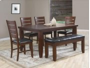 Table with 4 Chairs and Bench Product Image