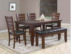 Table with 4 Chairs and Bench