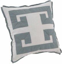 "Custom Decorative Pillows Double Greek Key (21"" x 21"")"