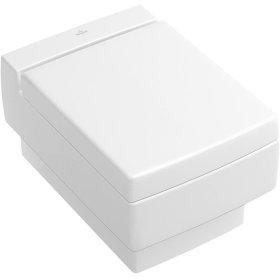 Wall-mounted toilet - Matte White CeramicPlus