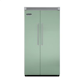 "Sage 42"" Quiet Cool™ Side-by-Side Refrigerator/Freezer - VISB Tru-Flush™ (42"" wide)"