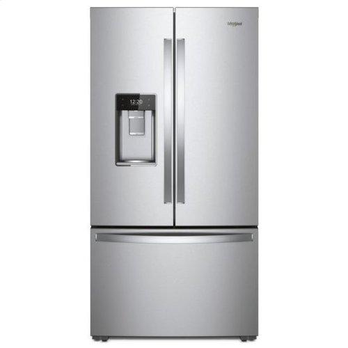 Whirlpool® 36-inch Wide Smart Counter Depth French Door-within-Door Refrigerator - 24 cu. ft. - Fingerprint Resistant Stainless Steel