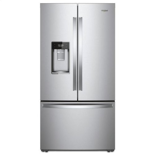 Whirlpool® 36-inch Wide Smart Counter Depth French Door-within-Door Refrigerator - 24 cu. ft. - Fingerprint Resistant Stainless Steel