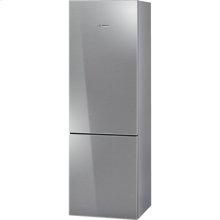 "24"" Glass Door Counter-Depth Bottom Freezer B10CB80NVS 800 Series - Glass on Stainless Steel"