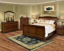Whitley Court 6/6 EK Bed - EK Headboard