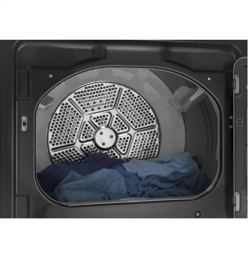 GE® 7.4 cu. ft. capacity aluminized alloy drum electric dryer with HE Sensor Dry [OPEN BOX]